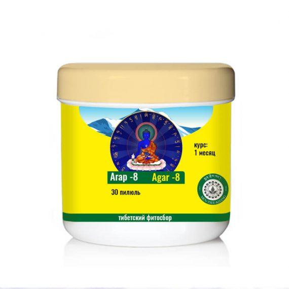 Купить Агар-8 Тибетское лекарство от Бессонницы, Укрепляет Сердце