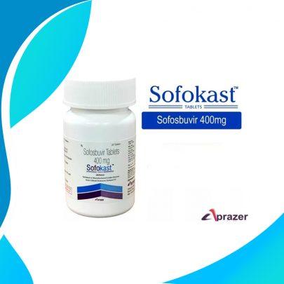 SOFOKAST 400MG 28 TAB. Лечение Гепатита C всех Генотипов. ИНДИЯ