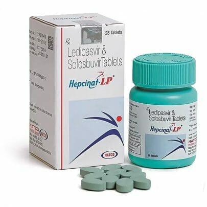 Hepcinat LP. Гепатит C, все Генотипы. Софосбувир и Ледипасвир