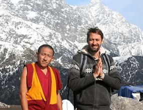 Сергей Меркулов и тибетские ЛАмы