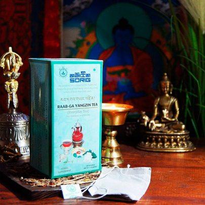Тибетский чай Янджин Гармонизация Расстройства Всех 3 Дош Тела