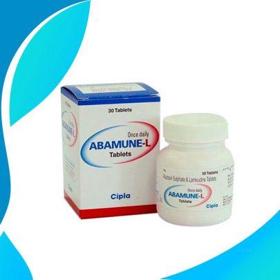 ABAMUNE-L (Абакавир + Ламивудин) 600 мг+300 мг Индия Cipla Ltd