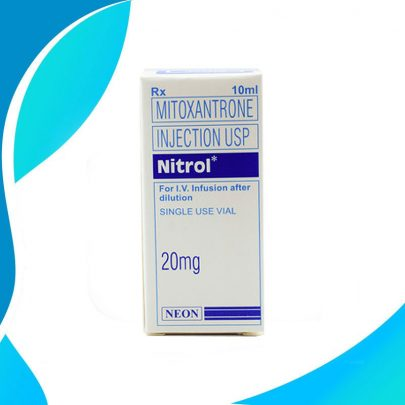 NITROL 20MG 10ML Митоксантрон Химиотерапия рака Индия