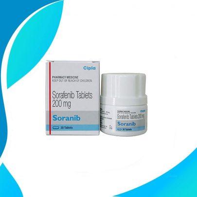 SORANIB 200MG 30TAB Действующее вещество Сорафениб. Индия