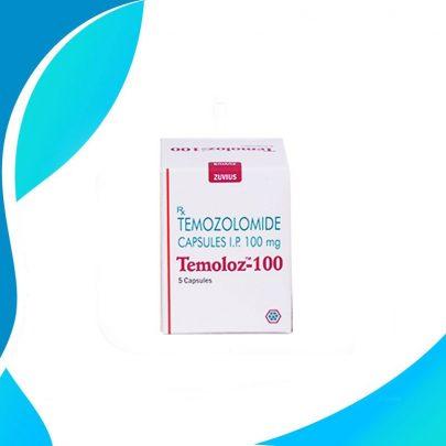 TEMOLOZ 100MG 5TAB