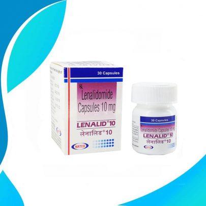 LENALID 10MG 30CAPS Леналидомид. Терапия рака. Индия