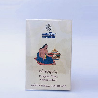 Тибетский чай для Нервной системы. Chongchen Chulen (30 пак х 2 г)
