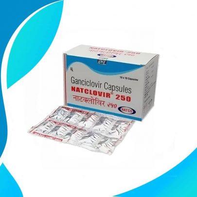 НАТКЛОВИР / NATCLOVIR 250MG 10 капсул. Лечение вирусных инфекций